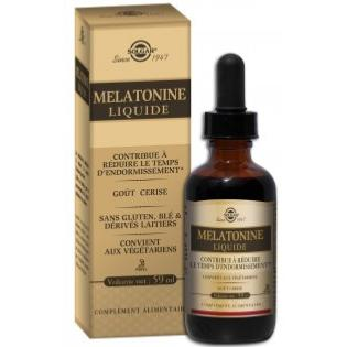 SOLGAR MELATONINE LIQUIDE 59ML