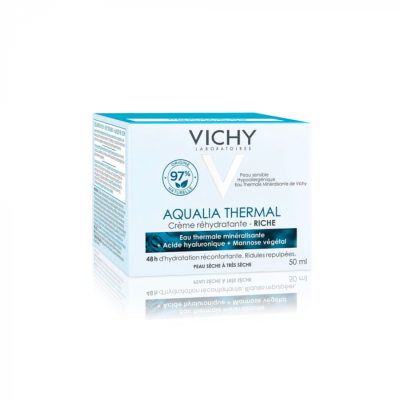 VICHY AQUALIA CREME RICHE POT 50ML