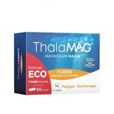 THALAMAG MAGNESIUM MARIN FORME PHYSIQUE & MENTALE FER/B9 60 GELULES