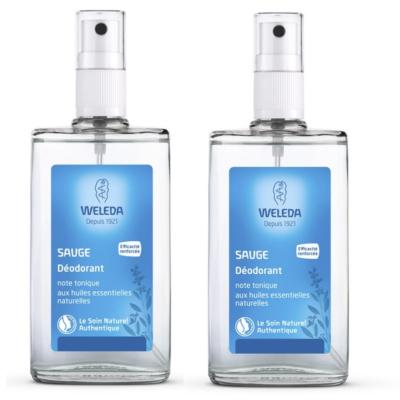 WELEDA SAUGE DEODORANT SPRAY 2X100ML