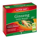 SUPERDIET GINSENG GELEE ROYALE BIO 10 AMPOULES 15ML