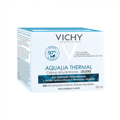 VICHY AQUALIA CREME LEGERE POT 50ML