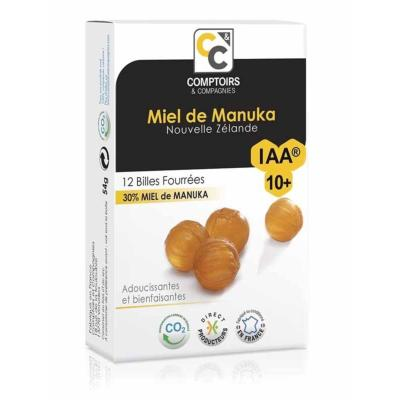 BILLES FOURREES 30% MIEL DE MANUKA IAA10+ 12 BILLES - 54g