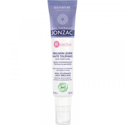 JONZAC REACTIVE EMULSION LEGERE HAUTE TOLERANCE 40ML