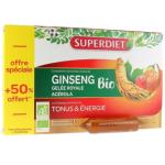SUPERDIET GINSENG GELEE ROYALE BIO 30 AMPOULES