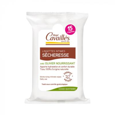 ROGE CAVAILLES LINGETTES INTIMES SECHERESSE X15
